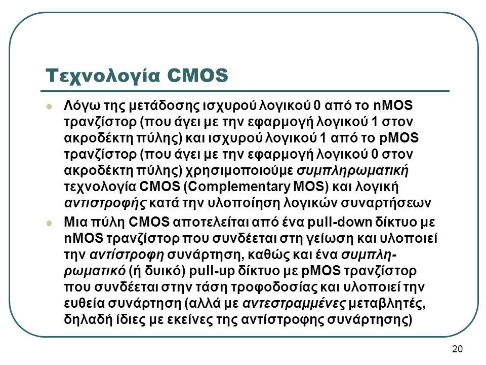 Τεχνολογία CMOS