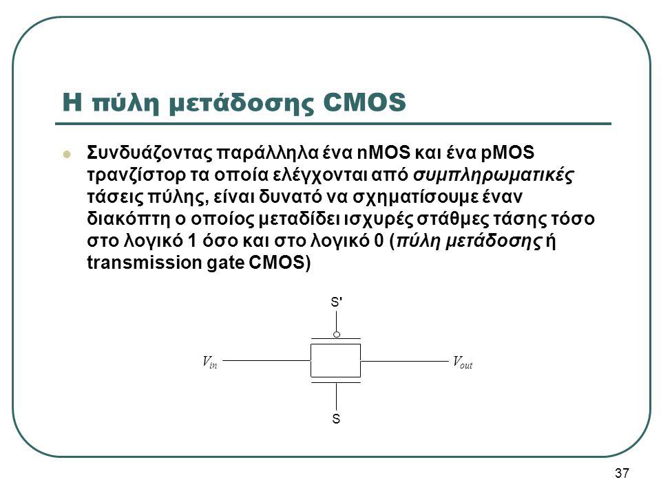 Η πύλη μετάδοσης CMOS