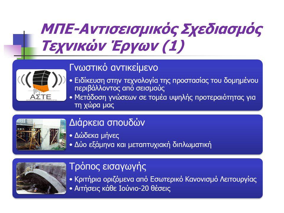ΜΠΕ-Αντισεισμικός Σχεδιασμός Τεχνικών Έργων (1)