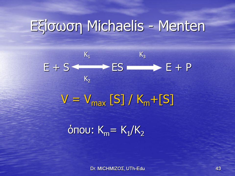 Εξίσωση Michaelis - Menten