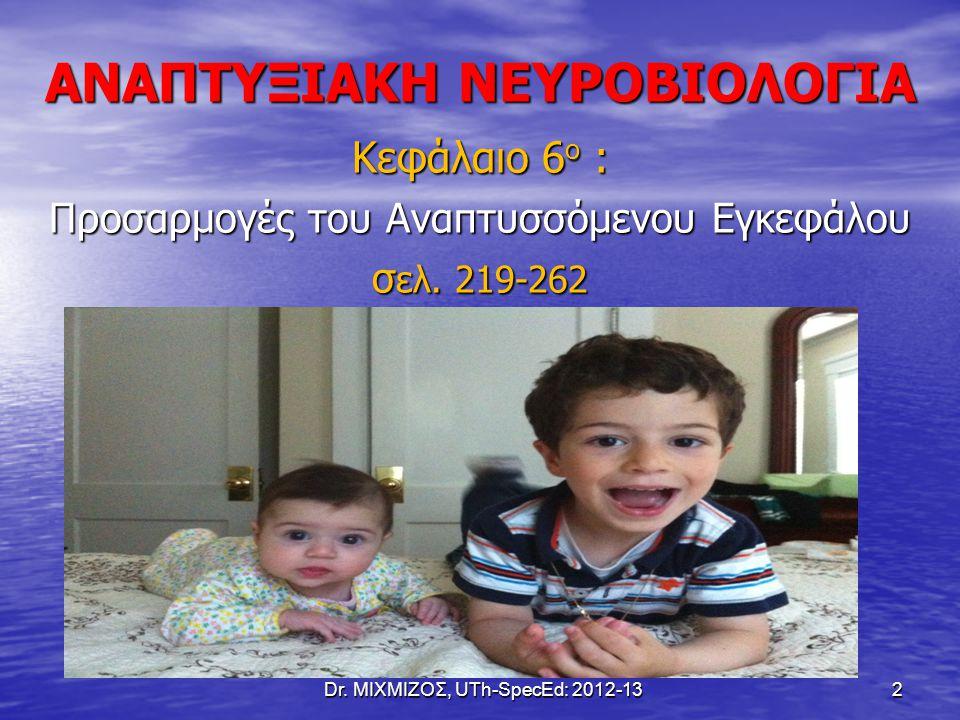 ΑΝΑΠΤΥΞΙΑΚΗ ΝΕΥΡΟΒΙΟΛΟΓΙΑ