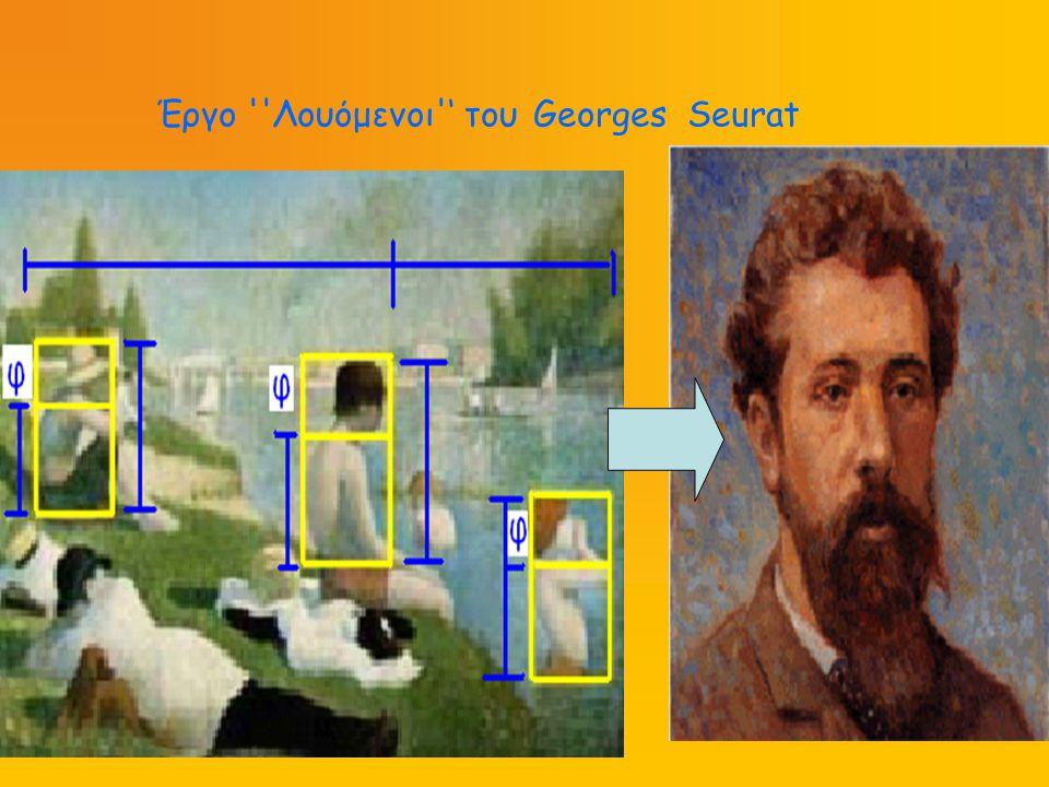 Έργο Λουόμενοι ' του Georges Seurat