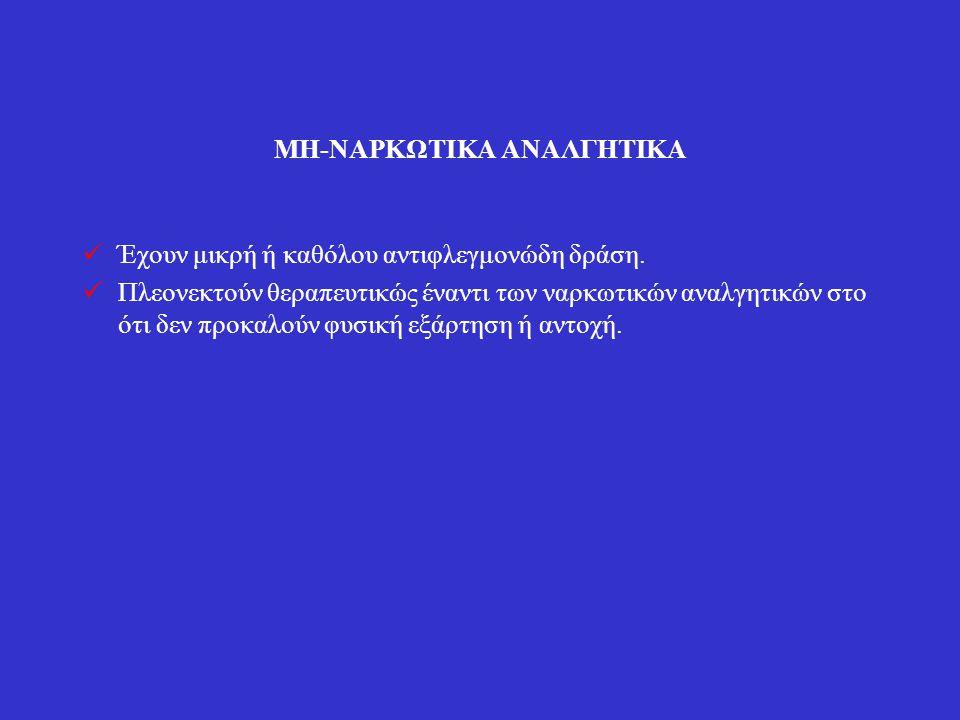 ΜΗ-ΝΑΡΚΩΤΙΚΑ ΑΝΑΛΓΗΤΙΚΑ