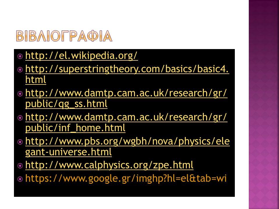 ΒιΒλιογραφια http://el.wikipedia.org/