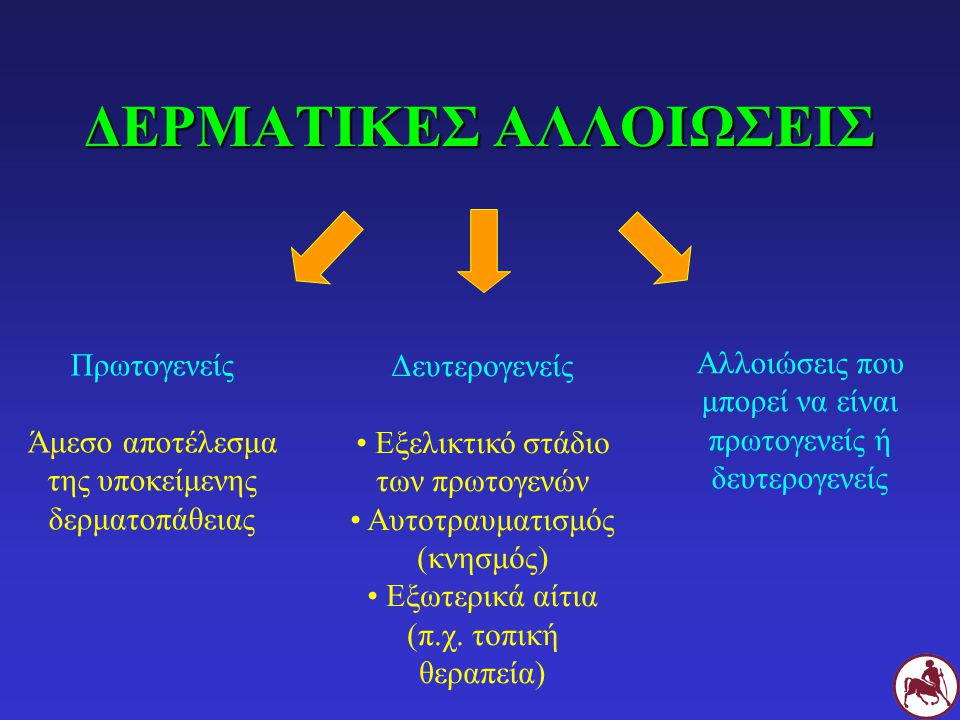 ΔΕΡΜΑΤΙΚΕΣ ΑΛΛΟΙΩΣΕΙΣ