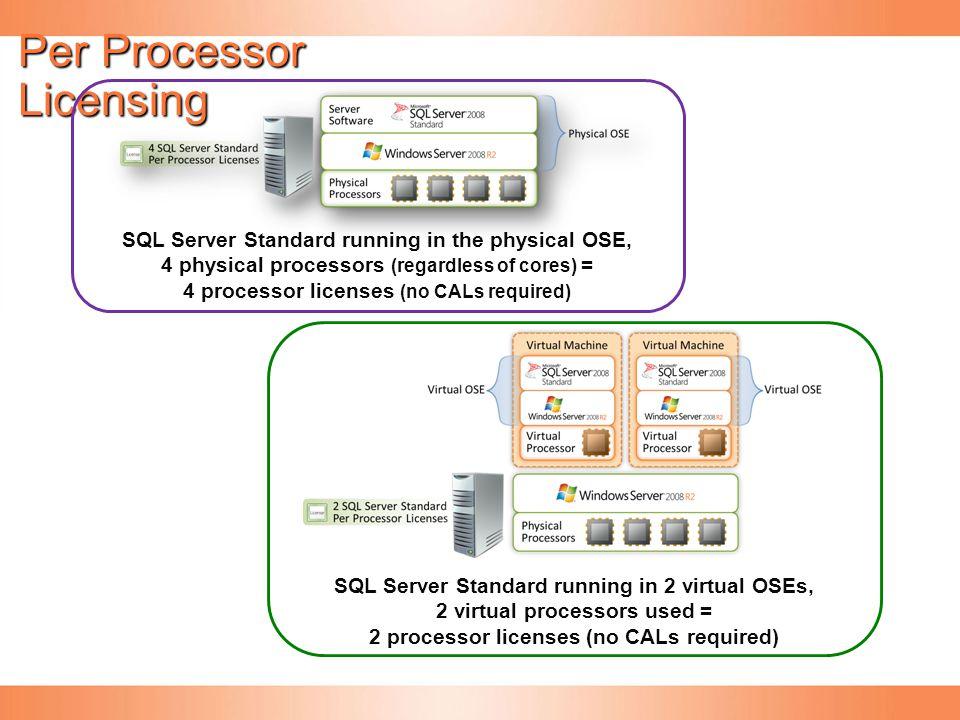 Per Processor Licensing