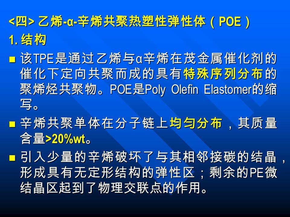 <四> 乙烯-α-辛烯共聚热塑性弹性体(POE)