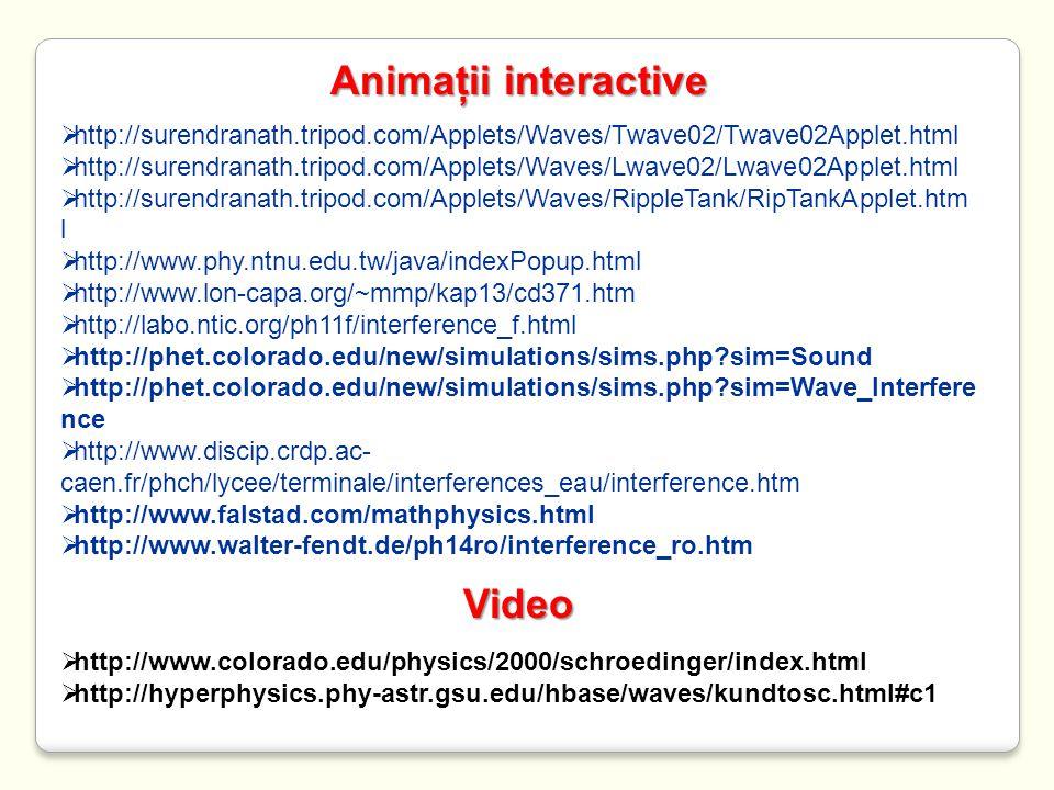 Animaţii interactive Video