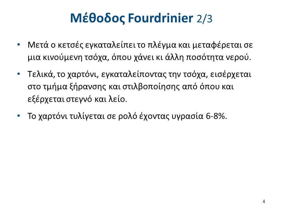Fourdrinier , από Egmason διαθέσιμο με άδεια CC BY-SA 3.0