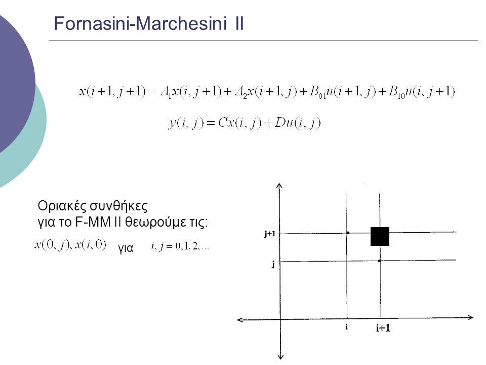 Fornasini-Marchesini ΙΙ