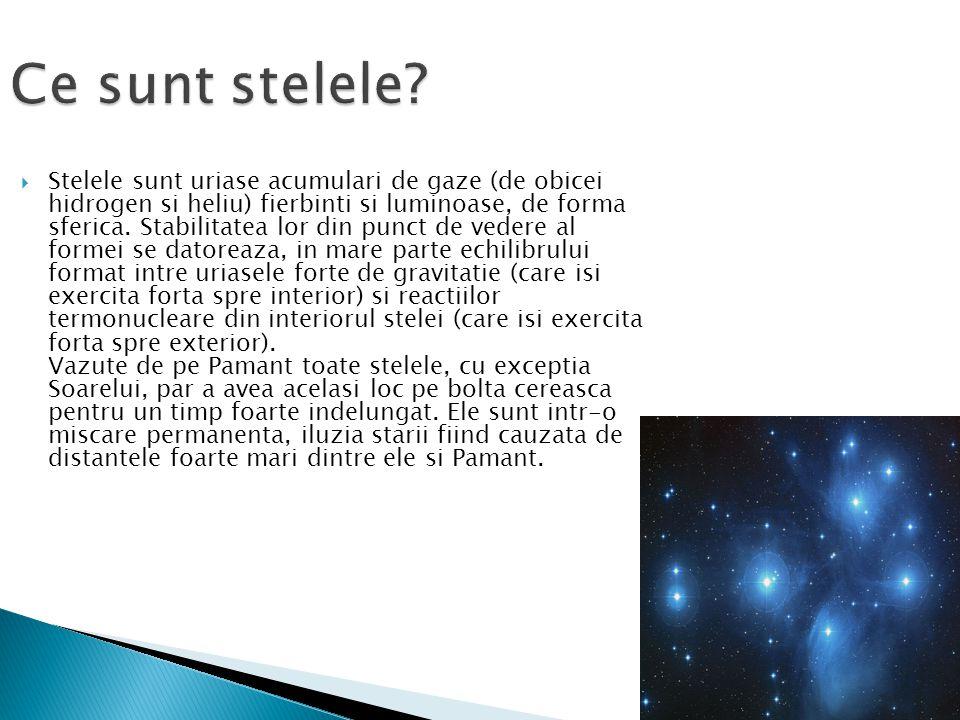 Ce sunt stelele