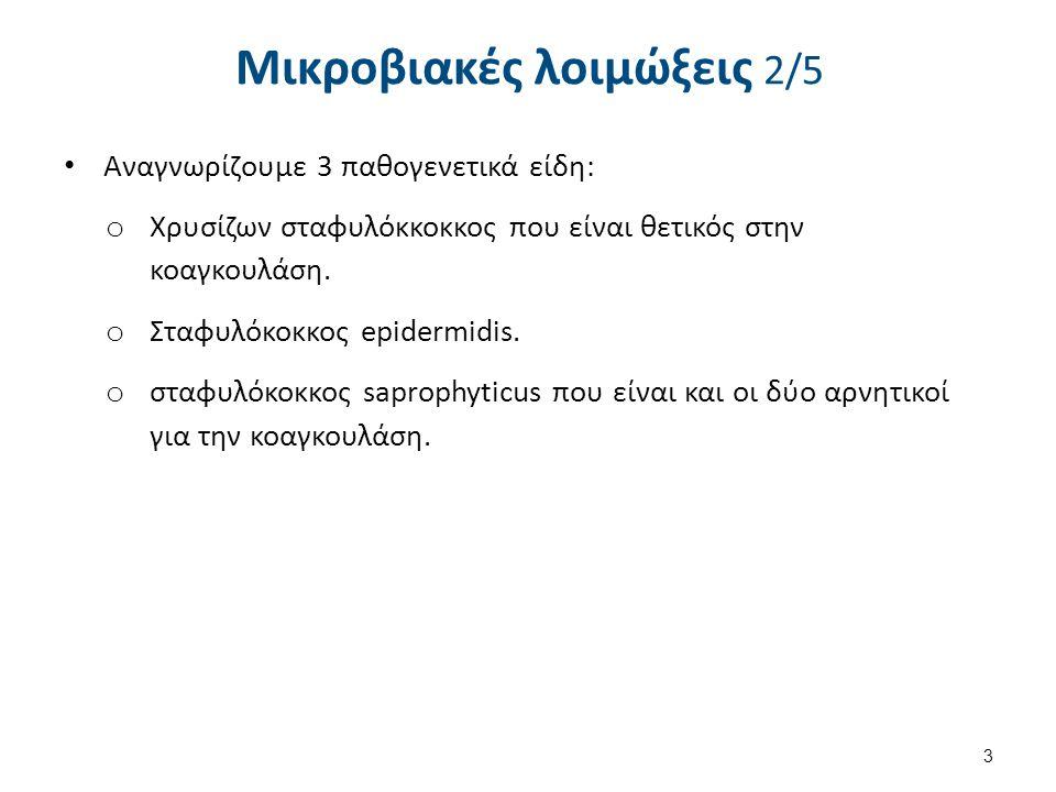 Μικροβιακές λοιμώξεις 3/5