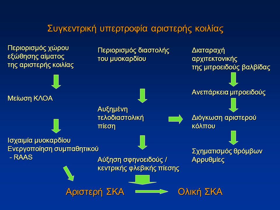 Συγκεντρική υπερτροφία αριστερής κοιλίας