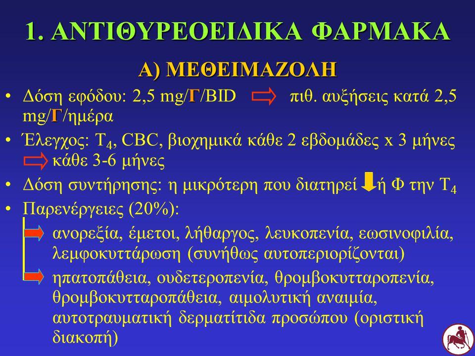 1. ΑΝΤΙΘΥΡΕΟΕΙΔΙΚΑ ΦΑΡΜΑΚΑ