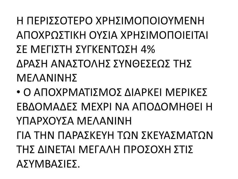 ΔΡΑΣΗ ΑΝΑΣΤΟΛΗΣ ΣΥΝΘΕΣΕΩΣ ΤΗΣ ΜΕΛΑΝΙΝΗΣ