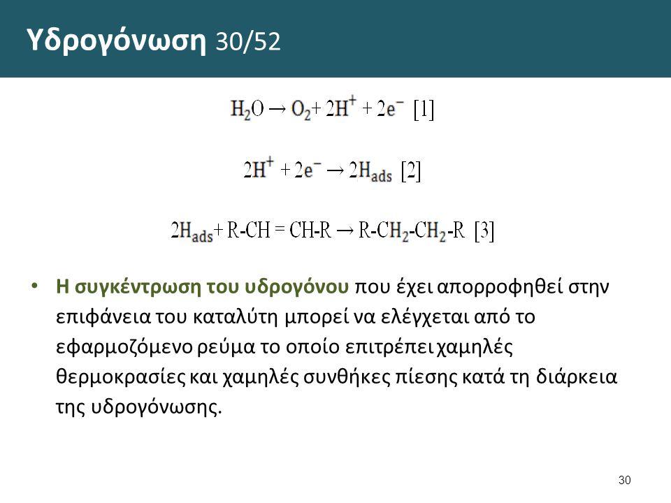 Υδρογόνωση 31/52