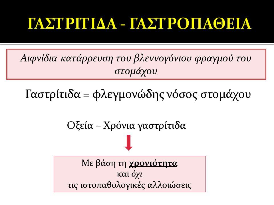 ΓΑΣΤΡΙΤΙΔΑ - ΓΑΣΤΡΟΠΑΘΕΙΑ