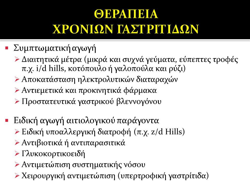 ΘΕΡΑΠΕΙΑ ΧΡΟΝΙΩΝ ΓΑΣΤΡΙΤΙΔΩΝ