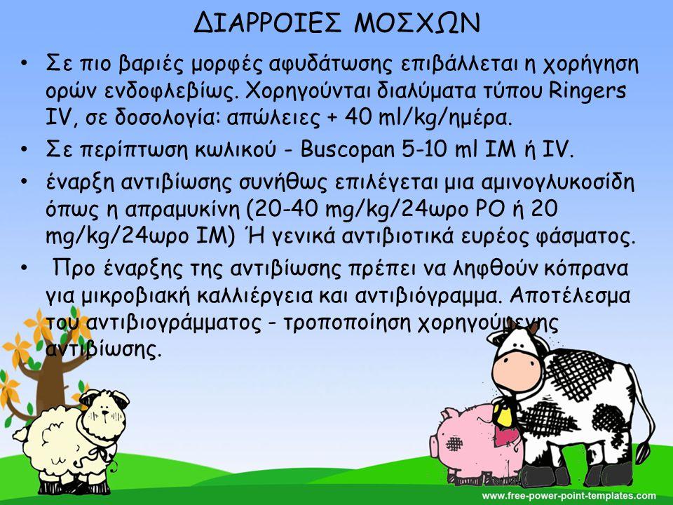ΔΙΑΡΡΟΙΕΣ ΜΟΣΧΩΝ