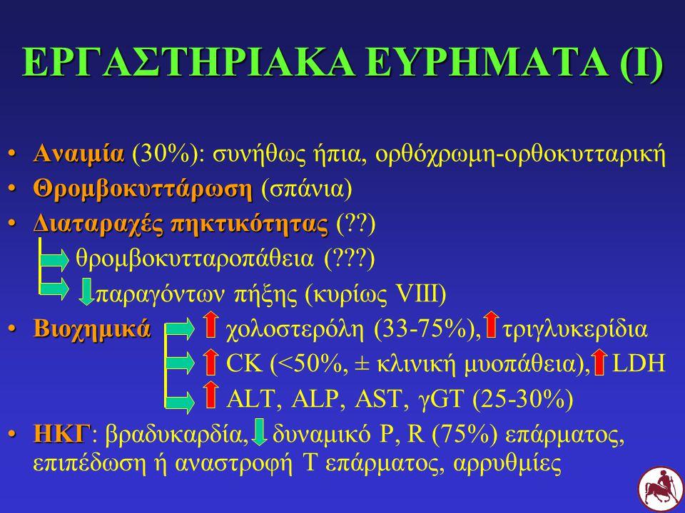 ΕΡΓΑΣΤΗΡΙΑΚΑ ΕΥΡΗΜΑΤΑ (Ι)