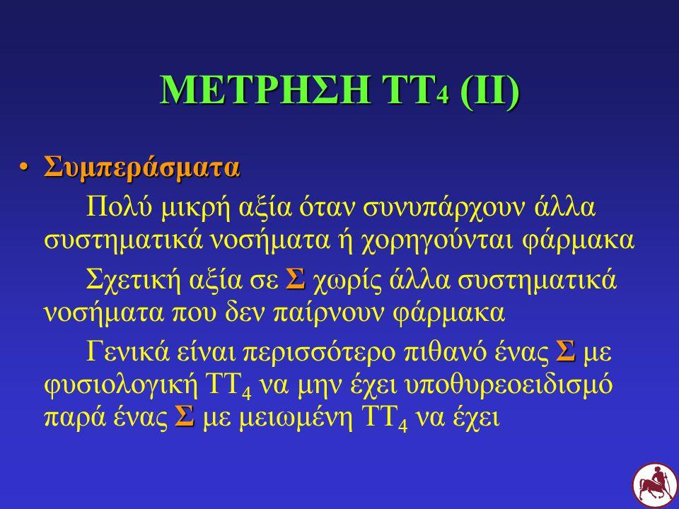 ΜΕΤΡΗΣΗ ΤΤ4 (ΙΙ) Συμπεράσματα