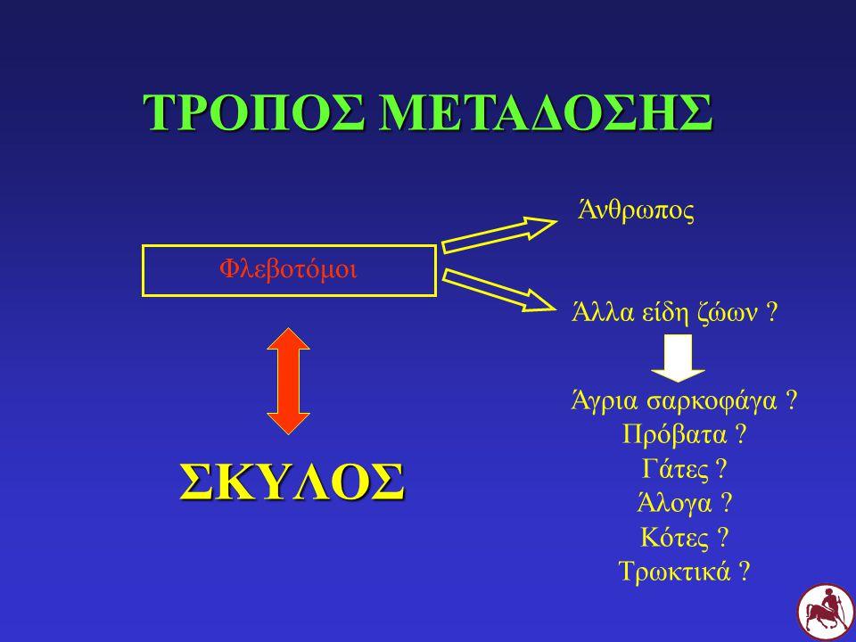 ΤΡΟΠΟΣ ΜΕΤΑΔΟΣΗΣ ΣΚΥΛΟΣ