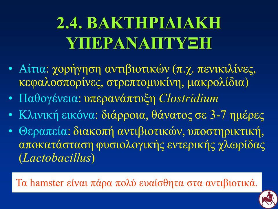 2.4. ΒΑΚΤΗΡΙΔΙΑΚΗ ΥΠΕΡΑΝΑΠΤΥΞΗ