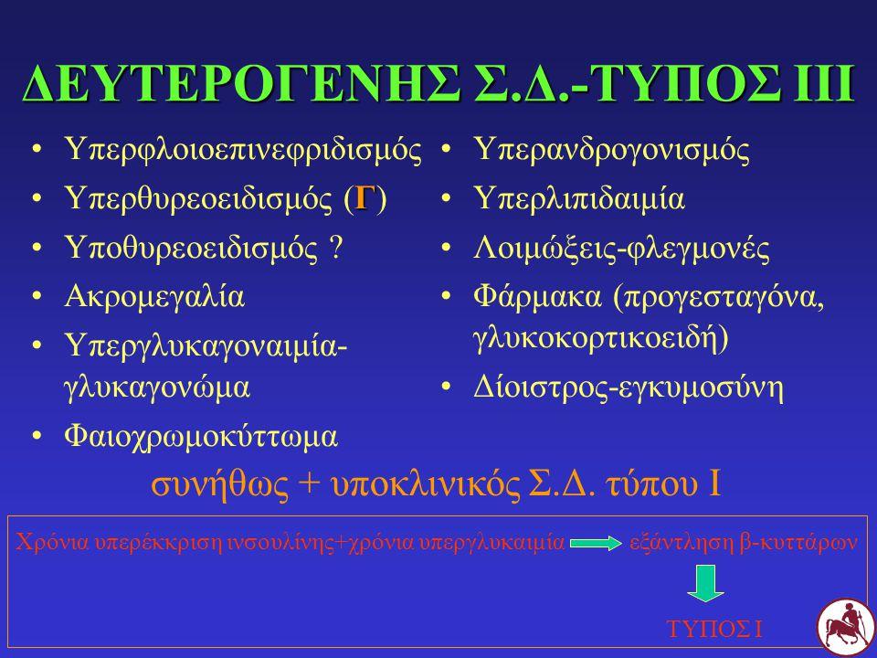 ΔΕΥΤΕΡΟΓΕΝΗΣ Σ.Δ.-ΤΥΠΟΣ ΙΙΙ
