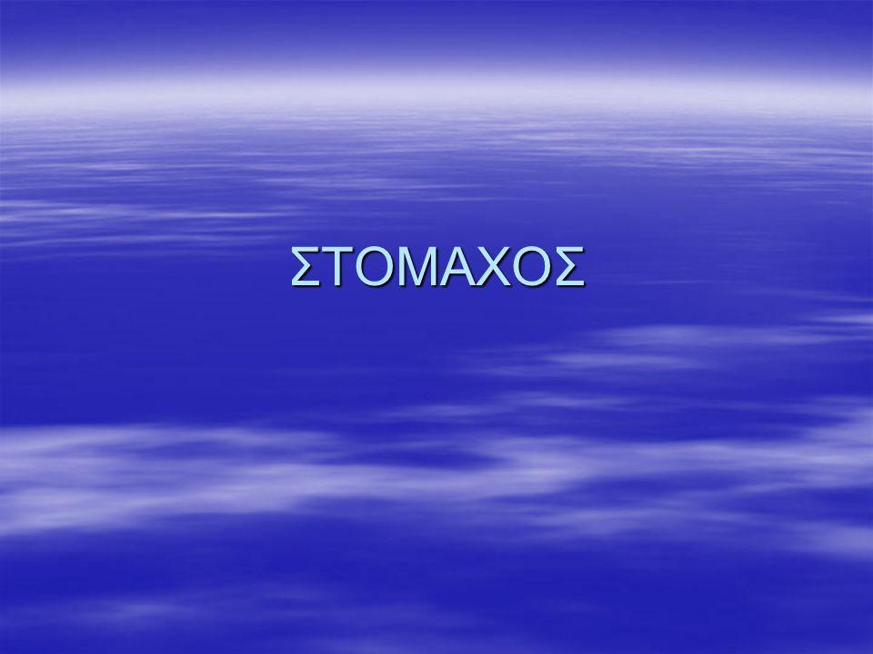 ΣΤΟΜΑΧΟΣ