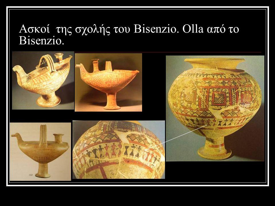 Ασκοί της σχολής του Bisenzio. Olla από το Bisenzio.