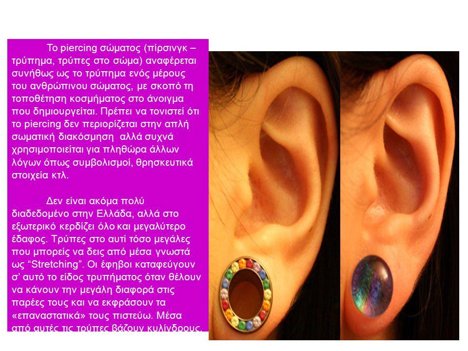 Τι είναι το Body Piercing