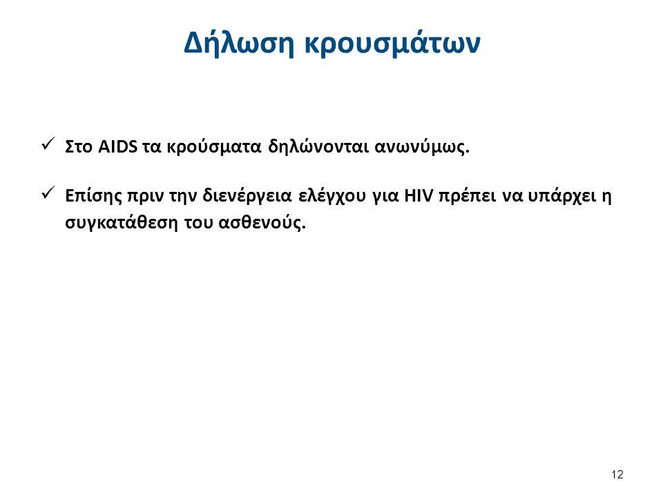 Διαγνωστική του ιού HIV 1/3