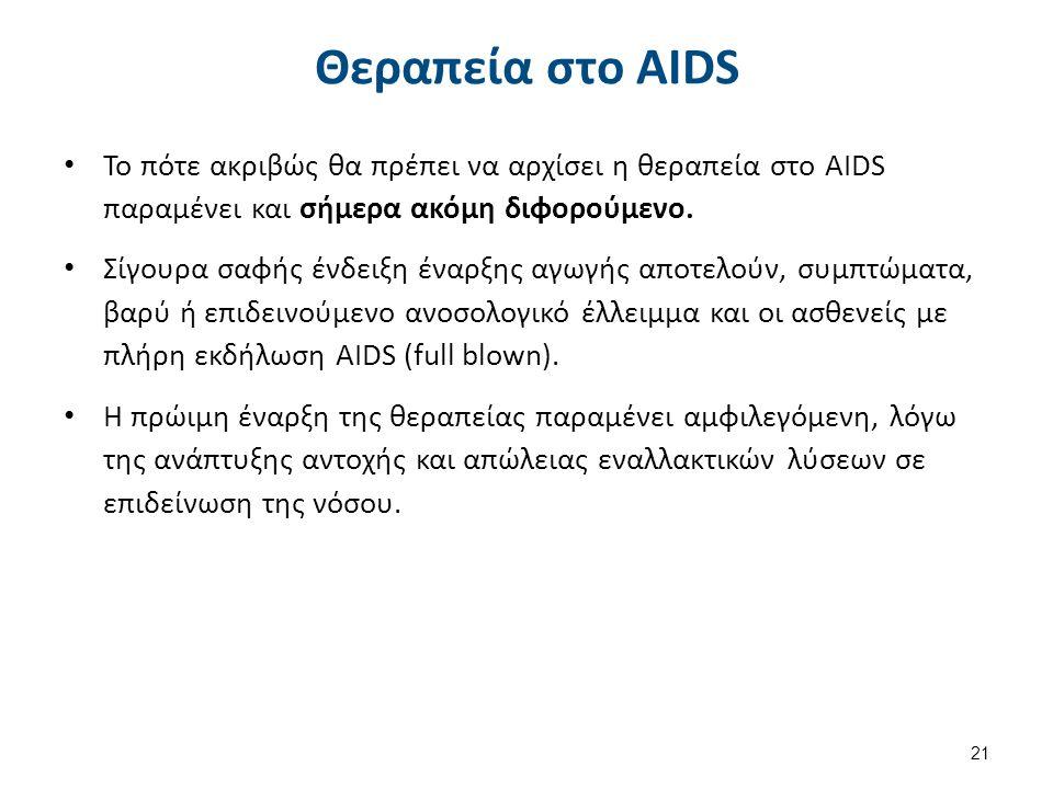 Κύρια συμπτώματα του Aids
