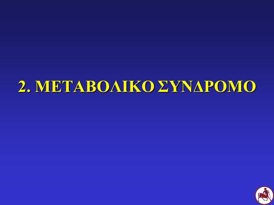 2. ΜΕΤΑΒΟΛΙΚΟ ΣΥΝΔΡΟΜΟ