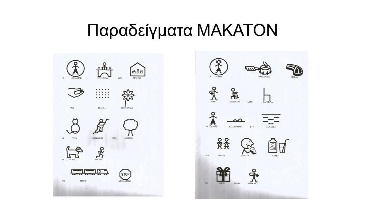 Παραδείγματα ΜΑΚΑΤΟΝ