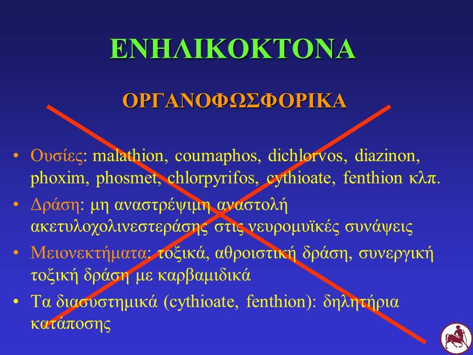 ΕΝΗΛΙΚΟΚΤΟΝΑ ΟΡΓΑΝΟΦΩΣΦΟΡΙΚΑ
