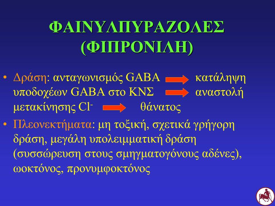 ΦΑΙΝΥΛΠΥΡΑΖΟΛΕΣ (ΦΙΠΡΟΝΙΛΗ)
