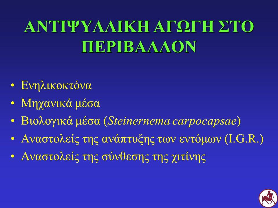 ΑΝΤΙΨΥΛΛΙΚΗ ΑΓΩΓΗ ΣΤΟ ΠΕΡΙΒΑΛΛΟΝ