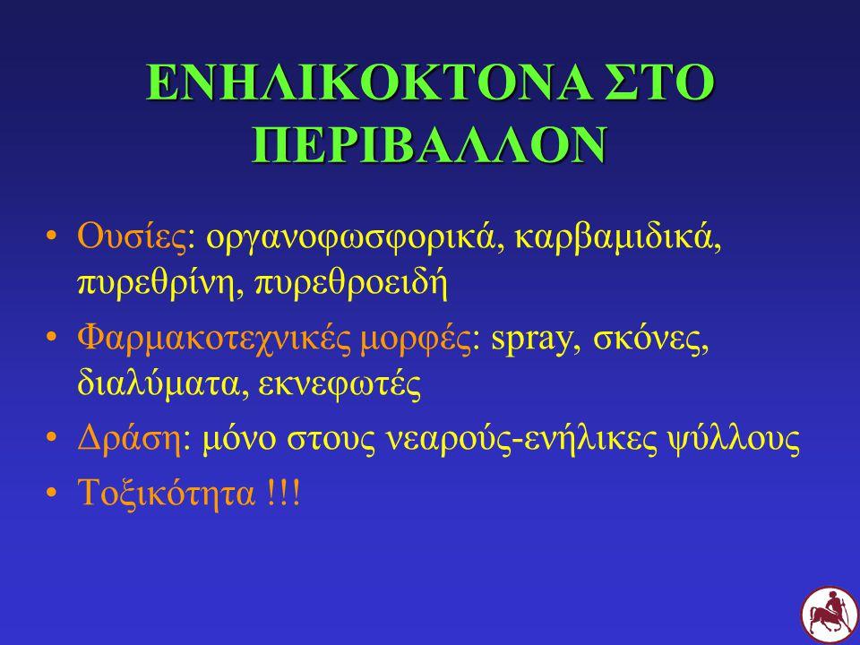 ΕΝΗΛΙΚΟΚΤΟΝΑ ΣΤΟ ΠΕΡΙΒΑΛΛΟΝ