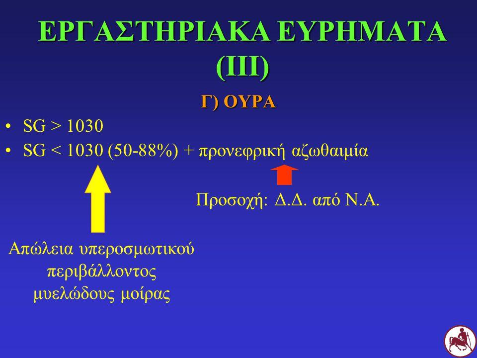 ΕΡΓΑΣΤΗΡΙΑΚΑ ΕΥΡΗΜΑΤΑ (ΙΙΙ)
