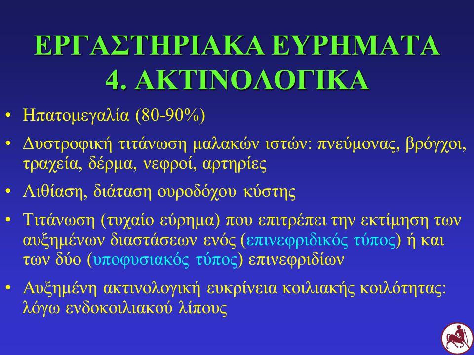 ΕΡΓΑΣΤΗΡΙΑΚΑ ΕΥΡΗΜΑΤΑ 4. ΑΚΤΙΝΟΛΟΓΙΚΑ
