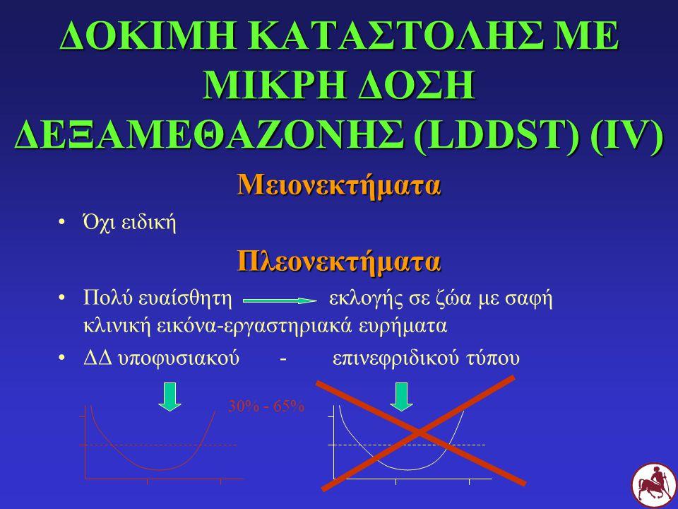 ΔΟΚΙΜΗ ΚΑΤΑΣΤΟΛΗΣ ΜΕ ΜΙΚΡΗ ΔΟΣΗ ΔΕΞΑΜΕΘΑΖΟΝΗΣ (LDDST) (ΙV)
