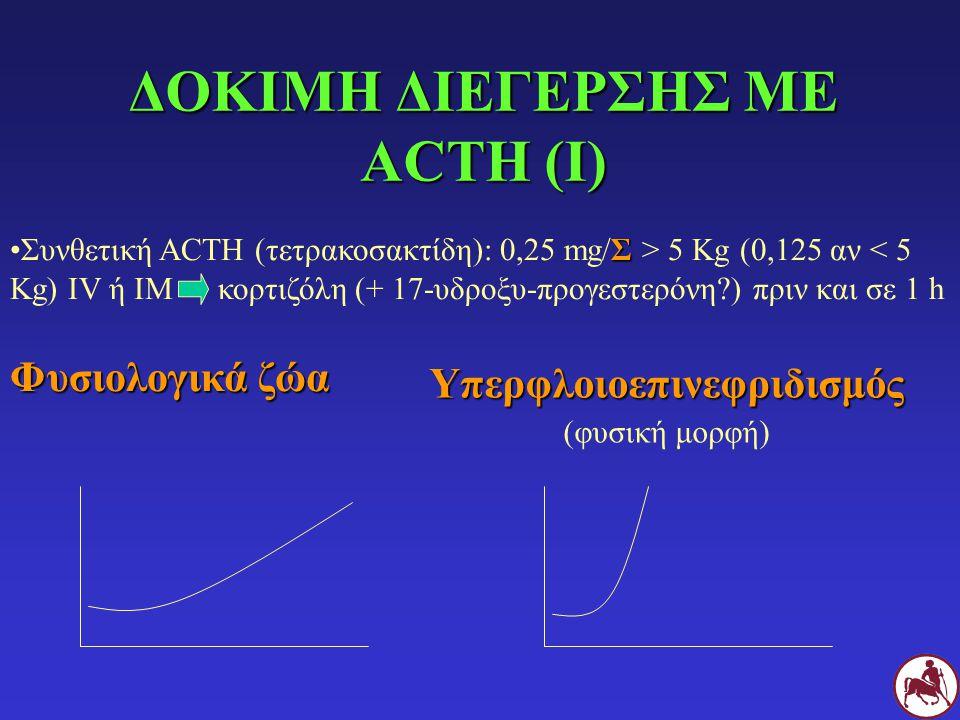 ΔΟΚΙΜΗ ΔΙΕΓΕΡΣΗΣ ΜΕ ACTH (Ι)