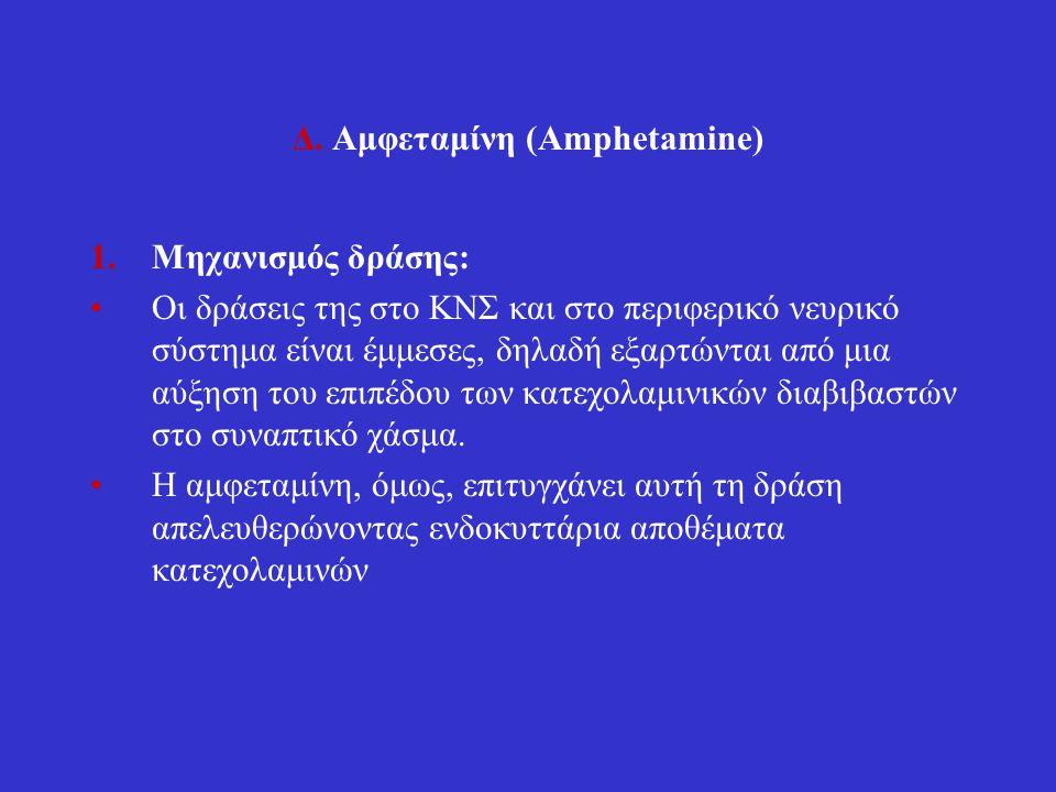 Δ. Αμφεταμίνη (Amphetamine)