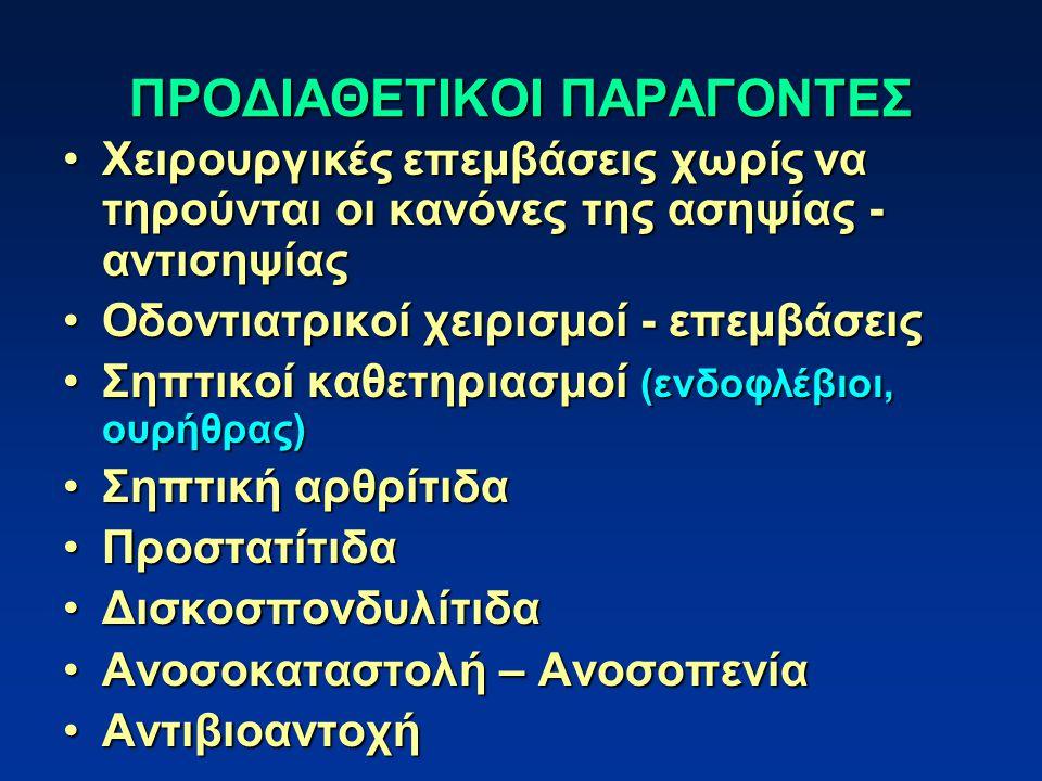 ΠΡΟΔΙΑΘΕΤΙΚΟΙ ΠΑΡΑΓΟΝΤΕΣ