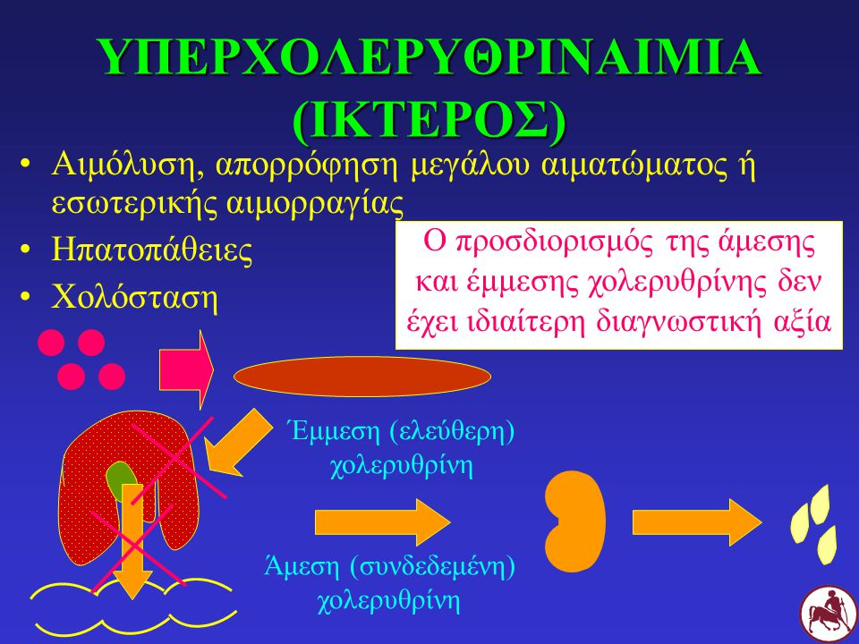 ΥΠΕΡΧΟΛΕΡΥΘΡΙΝΑΙΜΙΑ (ΙΚΤΕΡΟΣ)