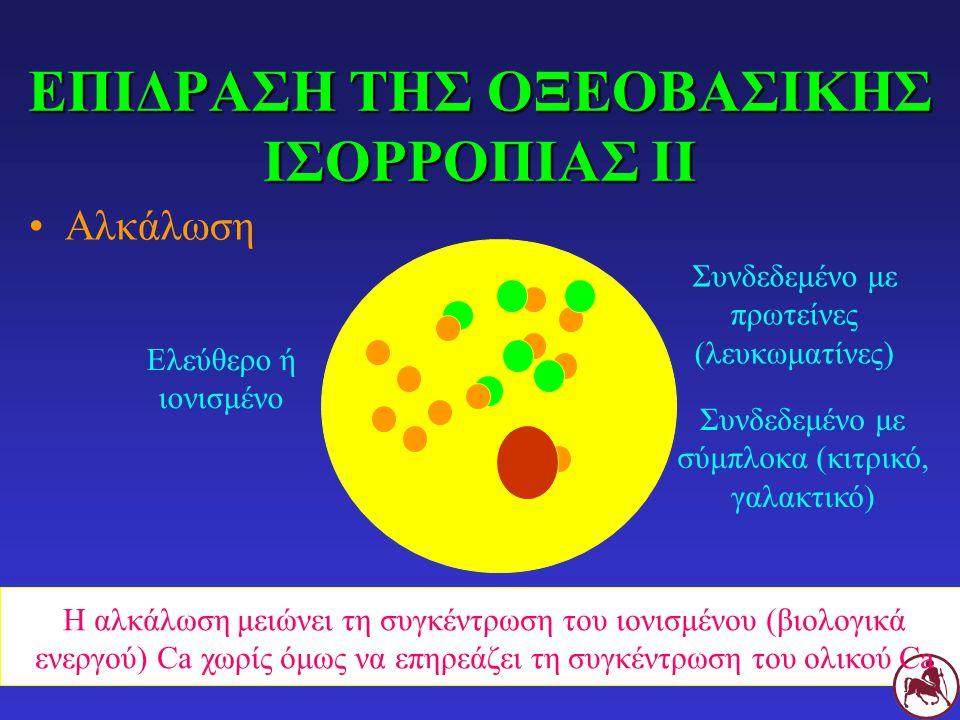 ΕΠΙΔΡΑΣΗ ΤΗΣ ΟΞΕΟΒΑΣΙΚΗΣ ΙΣΟΡΡΟΠΙΑΣ ΙΙ