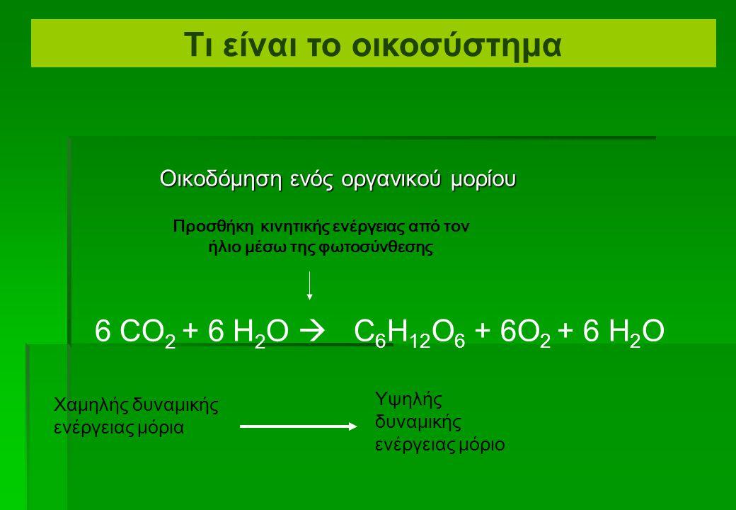 Οικοδόμηση ενός οργανικού μορίου