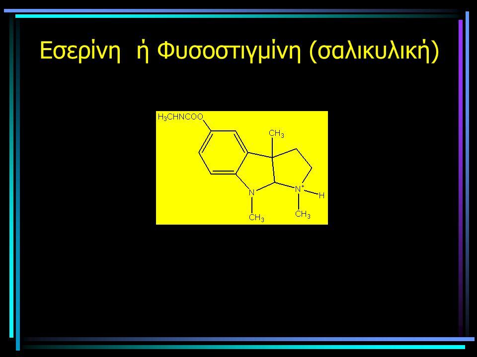 Εσερίνη ή Φυσοστιγμίνη (σαλικυλική)