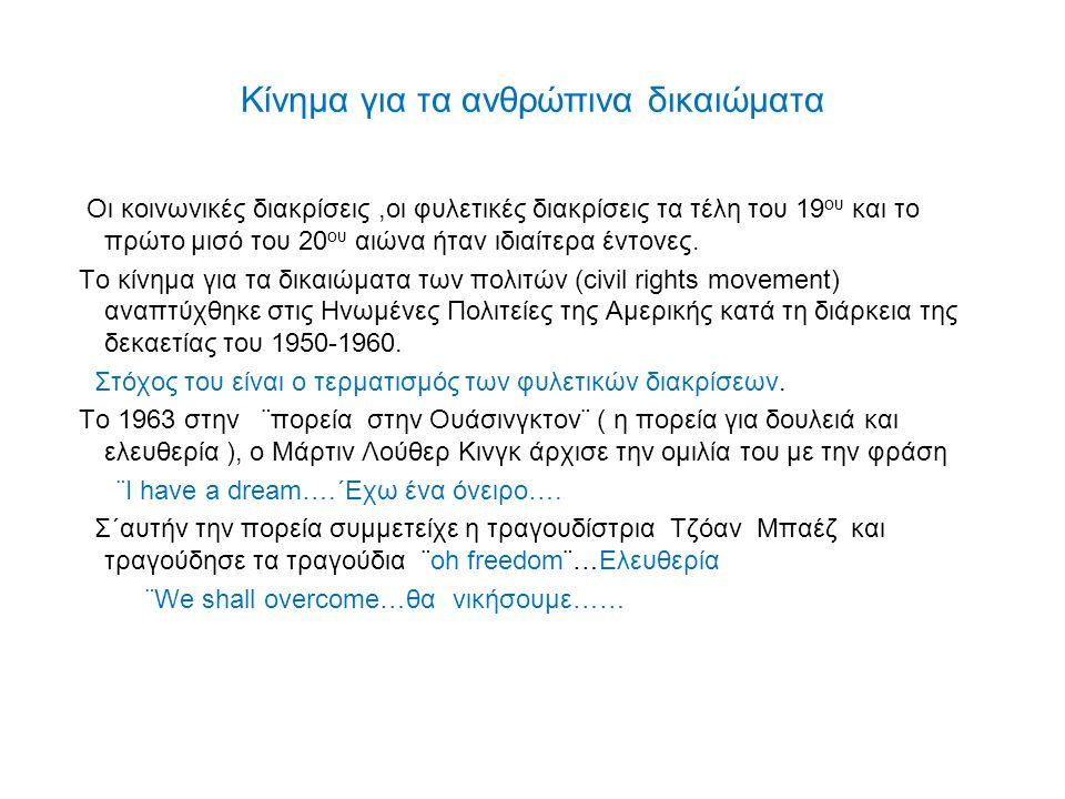 Κίνημα για τα ανθρώπινα δικαιώματα